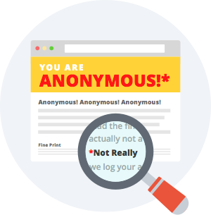 be anonymous with VPN